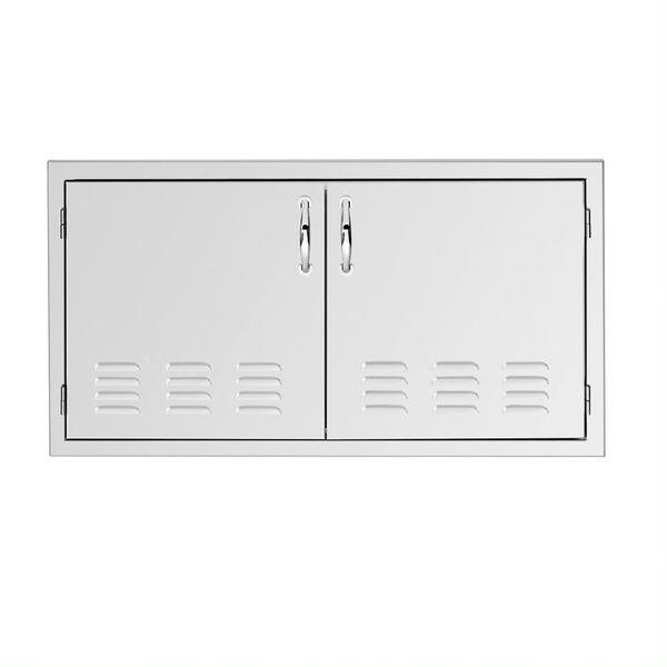 """Summerset 33"""" Vented Double Access Door image number 0"""