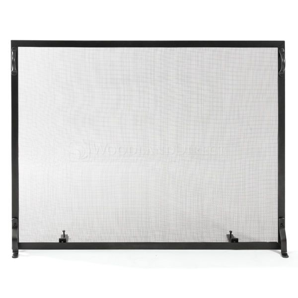 "Colonial Flat Fireplace Screen 38"" x 30"" image number 0"
