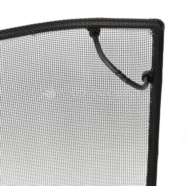 """Bostonian Curved Fireplace Screen - 39"""" x 31"""" image number 1"""
