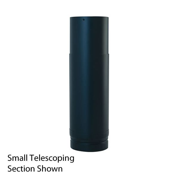 """Small Painted DV Pipe Telescoping Section - 4"""" Dia image number 0"""