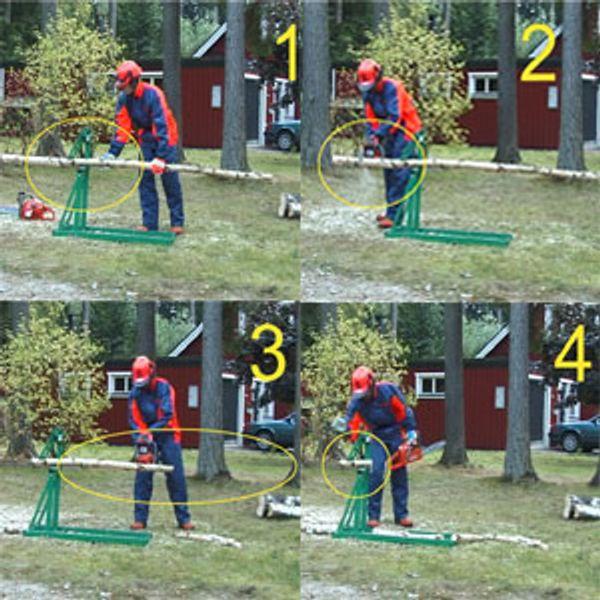 Smart-Holder Saw Horse/Wood Holder image number 2