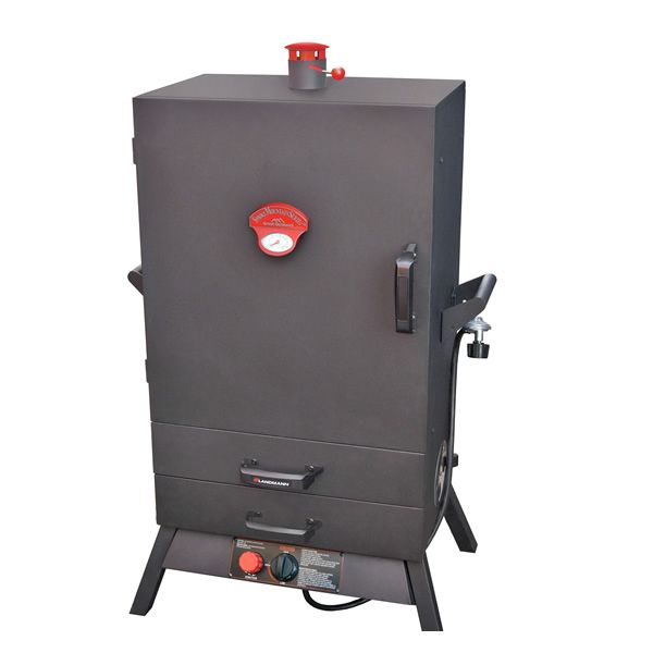 "Smoky Mountain Wide 2 Drawer Vertical Gas Smoker - 38"" image number 0"