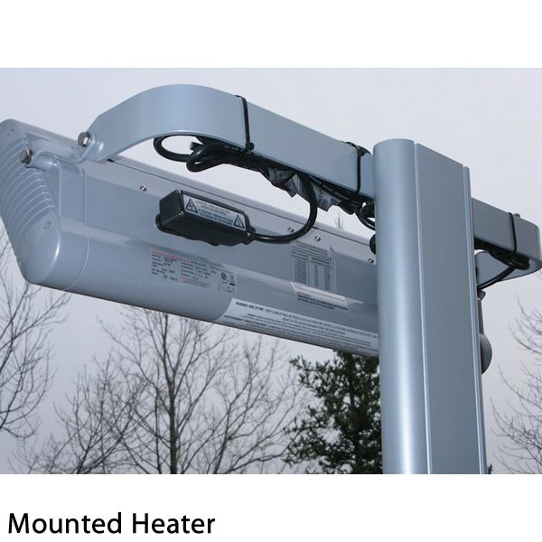 "Solaira Aluminum Post for Alpha Patio Heater - 7' 11"" image number 3"