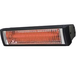 Solaira Cosy 1500W Black Quartz Infrared Patio Heater - 120V