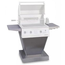 "Solaire Angular Pedestal Base for 21"" Deluxe Grill"