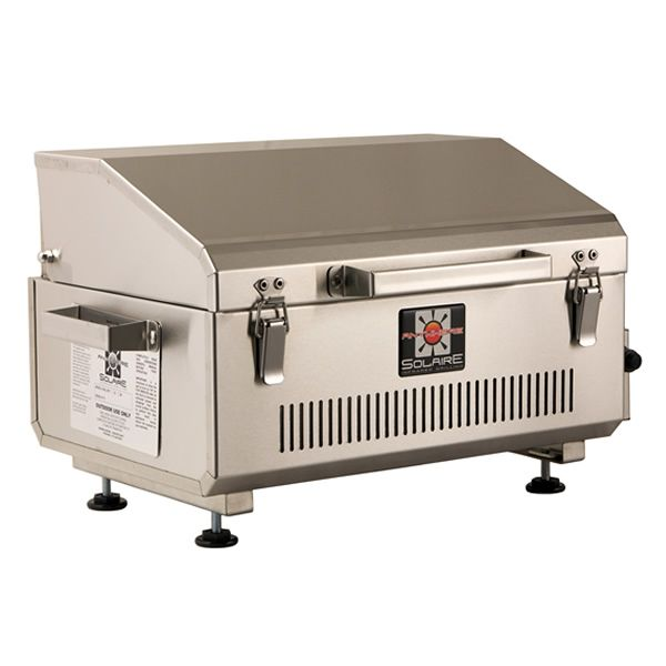 Solaire Anywhere Portable Grill - Stainless Steel image number 0