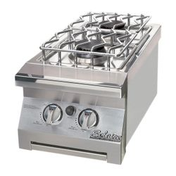 Solaire Built-In Double Side Burner