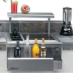 Solaire Built-In Pro-Bartender Center - 24""