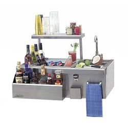 Solaire Built-In Pro-Bartender Center - 30""