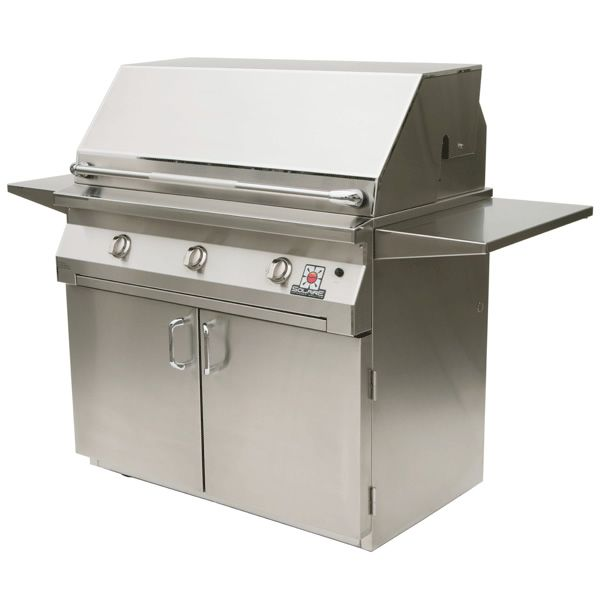 "Solaire Cart-Mount Gas Grill - 30"" image number 0"
