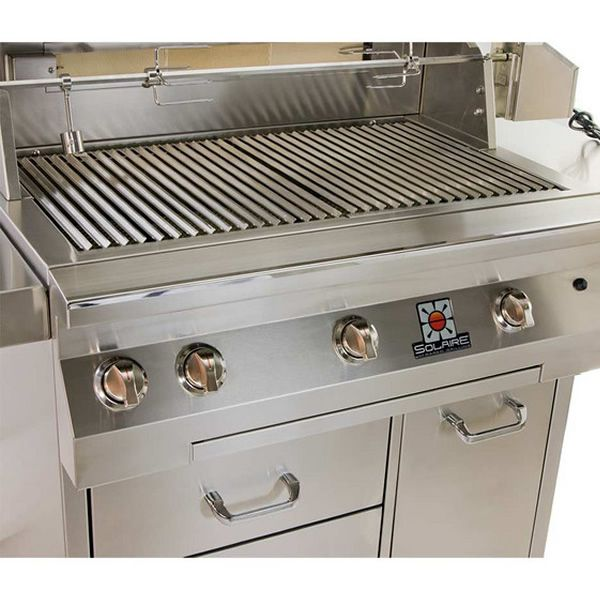 "Solaire Cart-Mount Gas Grill - 36"" image number 1"