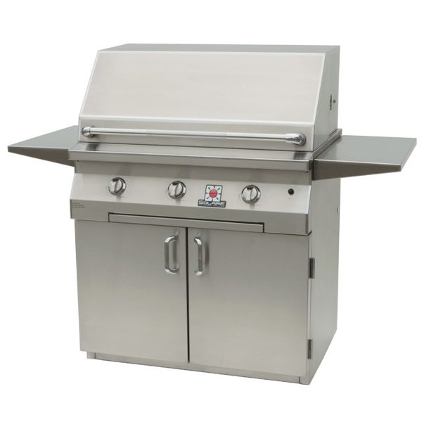 "Solaire Cart-Mount Gas Grill - 36"" image number 0"