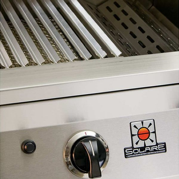 "Solaire Deluxe Cart-Mount Gas Grill - 27"" image number 3"