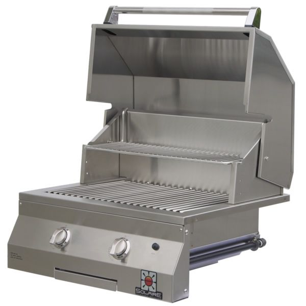 """Solaire Deluxe Built-In Gas Grill - 27"""" image number 0"""