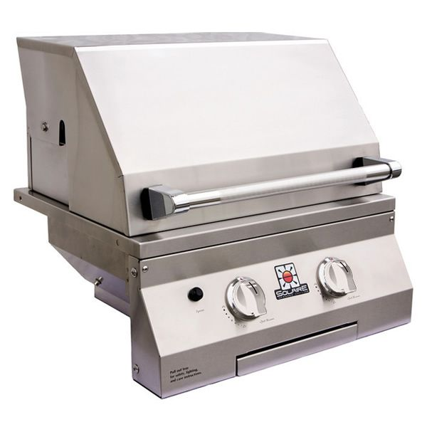 "Solaire Deluxe Built-In Gas Grill - 21"" image number 1"