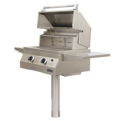 Solaire Deluxe In-Ground Post-Mount Gas Grill -27""