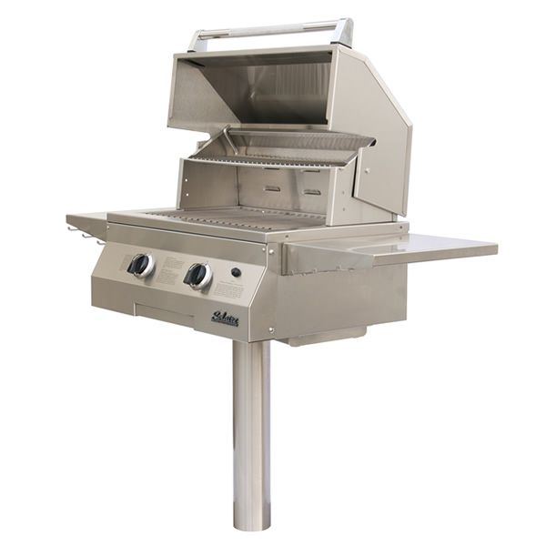 """Solaire Deluxe In-Ground Post-Mount Gas Grill -27"""" image number 0"""