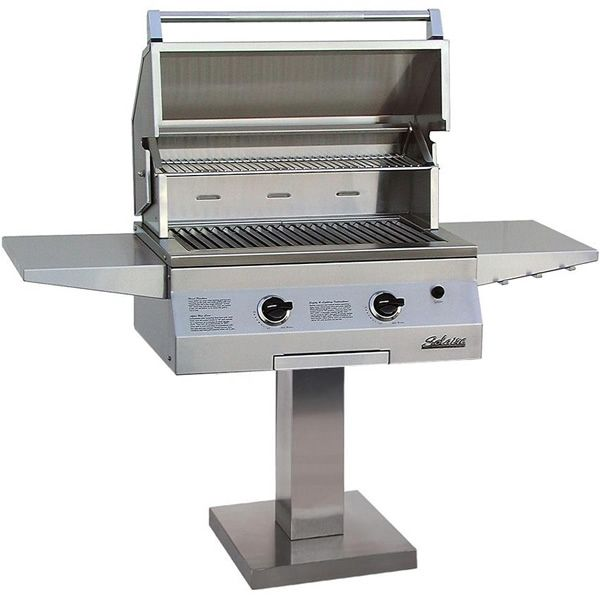 """Solaire Deluxe Post-Mount Gas Grill - 27"""" image number 0"""