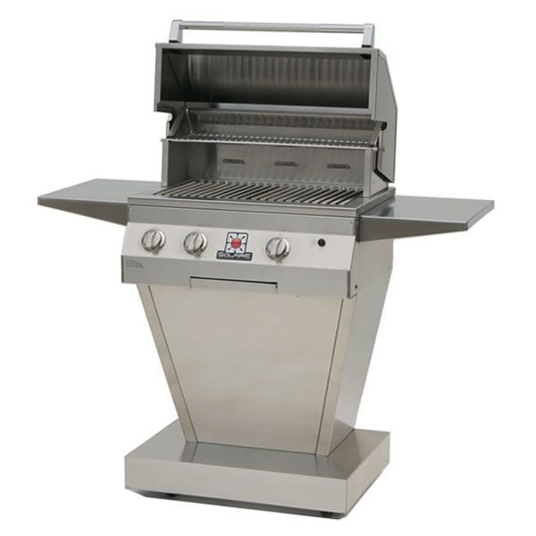 """Solaire Deluxe Pedestal Gas Grill - 27"""" image number 0"""