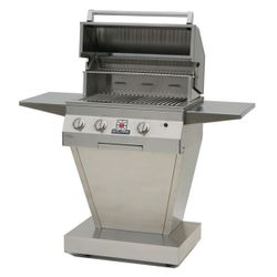 Solaire Deluxe Pedestal Gas Grill - 27""