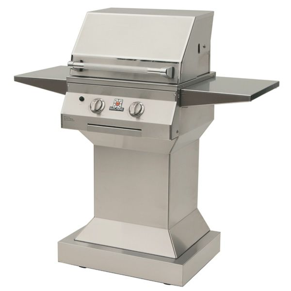 "Solaire Deluxe Pedestal Gas Grill - 21"" image number 0"