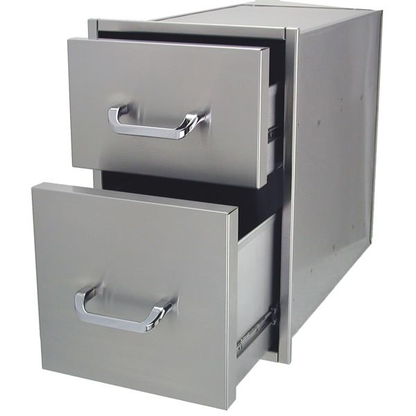 "Solaire Double Drawer - 14"" x 23"" image number 1"