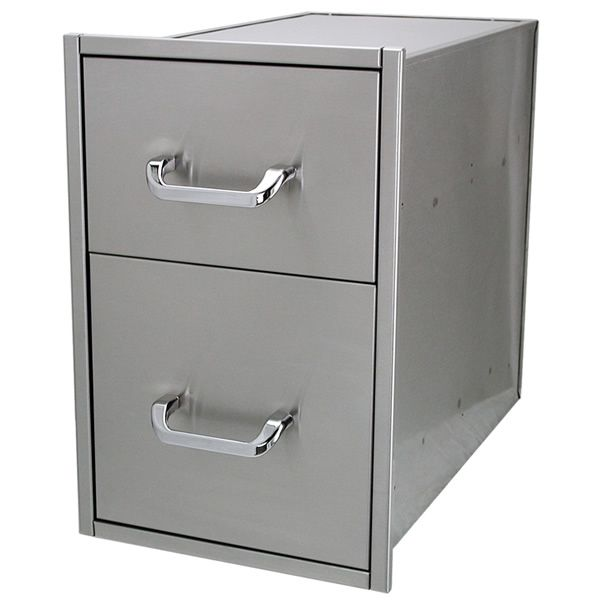 "Solaire Double Drawer - 14"" x 23"" image number 0"