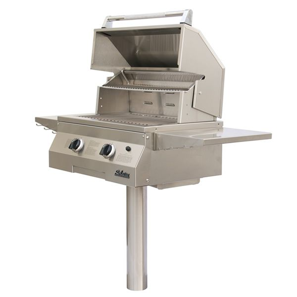 "Solaire In-Ground Post-Mount Gas Grill -27"" image number 0"