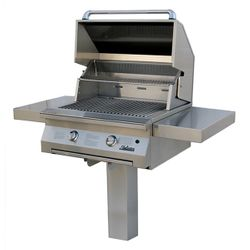 Solaire In-Ground Post-Mount Gas Grill -30""