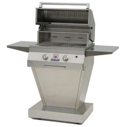 Solaire Pedestal Gas Grill - 27""