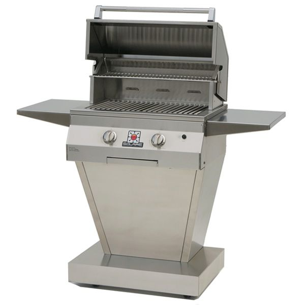 """Solaire Pedestal Gas Grill - 27"""" image number 0"""