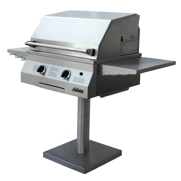 "Solaire Post-Mount Gas Grill - 27"" image number 0"