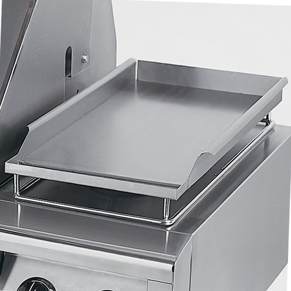 """Solaire Stainless Steel Griddle Plate - 30""""/42""""/56"""" Grill image number 0"""