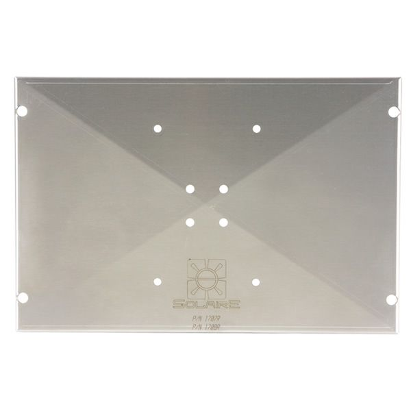 Solaire Stainless Steel Mounting Plate image number 0