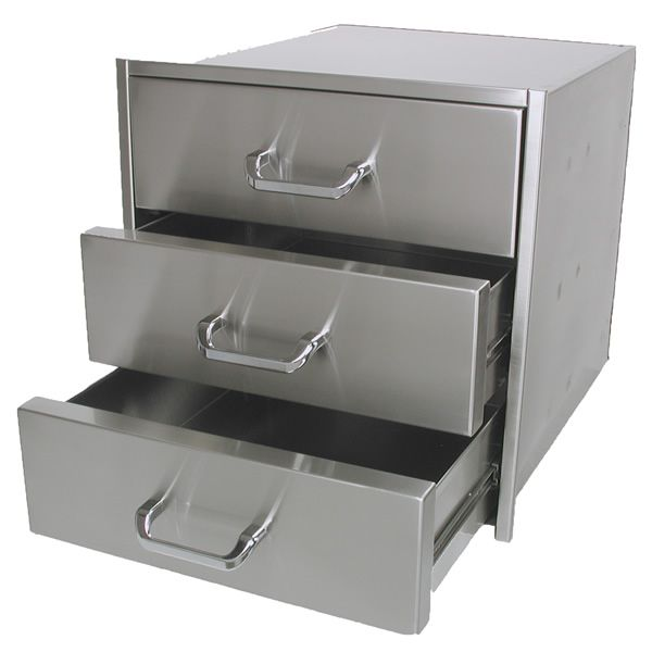 "Solaire Triple Drawer - 21"" x 23"" image number 1"