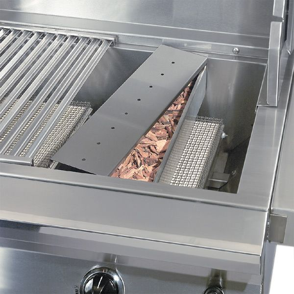 "Solaire Wood Chip Smoker Box - 30""/42""/56"" Grill image number 0"