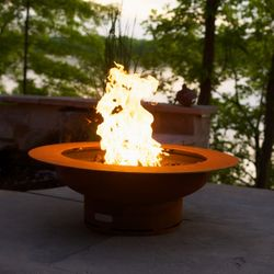 Saturn Gas Fire Pit