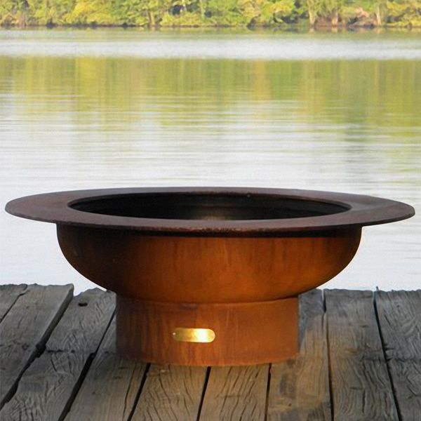 Saturn Wood Burning Fire Pit image number 1