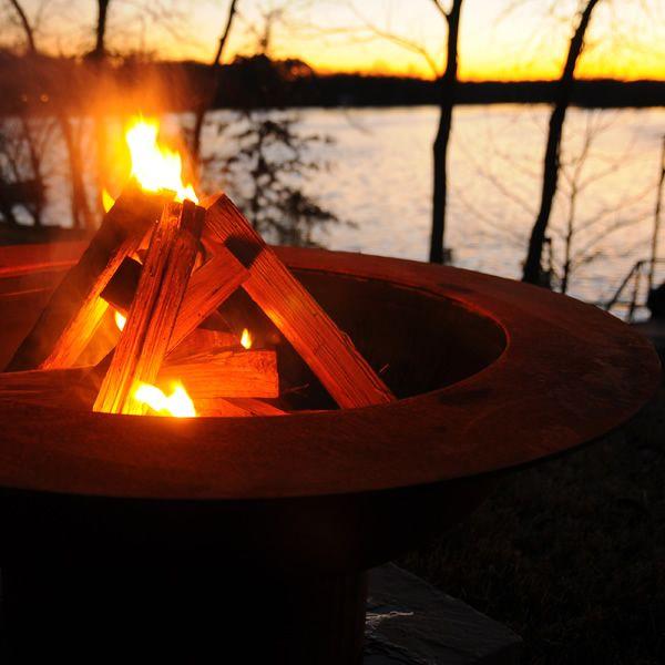 Saturn Wood Burning Fire Pit image number 4
