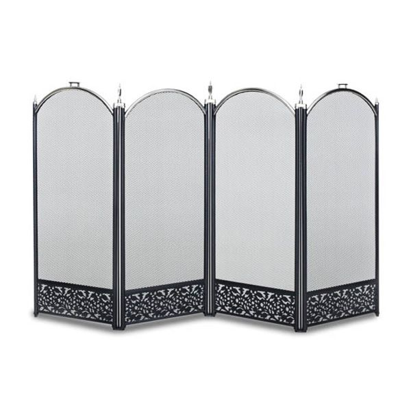 Sausalito Four Panel Fireplace Screen image number 0