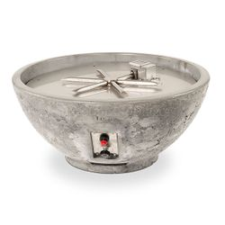 Sanctuary III Round Gas Fire Bowl - 29""