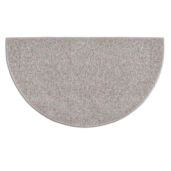 Sand Drift Half Round Fireplace Hearth Rug - 4' image number 0