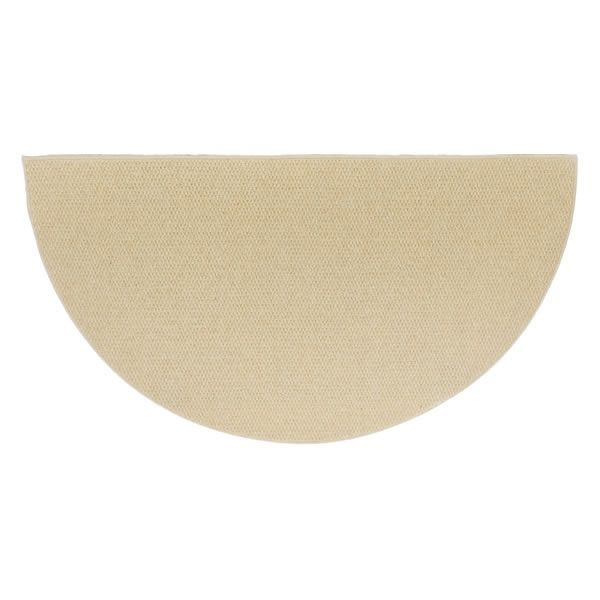 Sandstone Ember 6' Half Round Wool Fireplace Hearth Rug image number 0