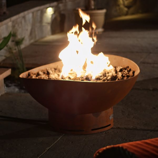 Scallop Gas Fire Pit image number 1