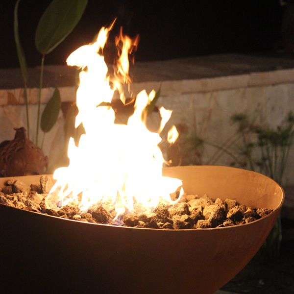 Scallop Gas Fire Pit image number 2