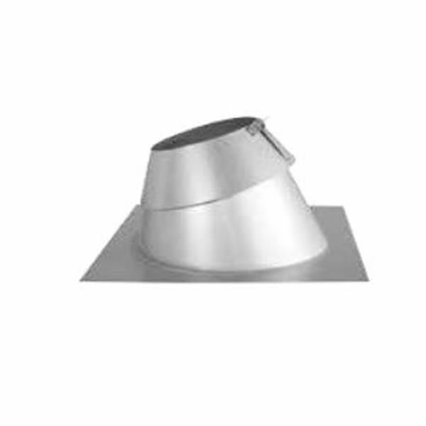"7"" Diameter Security 7FBR Adjustable Roof Flashing - 30 to 45 Degrees image number 0"