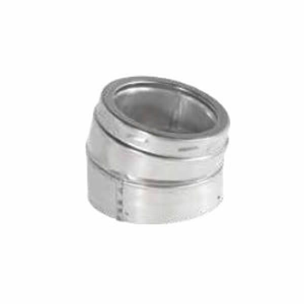 """6"""" Diameter Security Stainless Elbow - 15 Degree image number 0"""