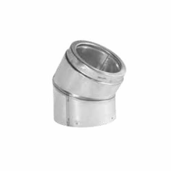 """6"""" Diameter Security Stainless Elbow - 30 Degree image number 0"""
