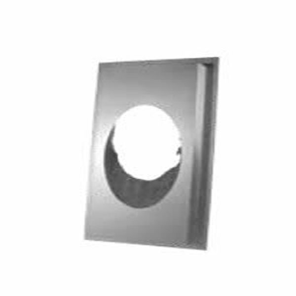 """6"""" Diameter Security 6RSMI30 Insulated Wall Shield - 30 Degree image number 0"""