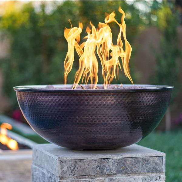 Sedona Copper Fire Bowl image number 0